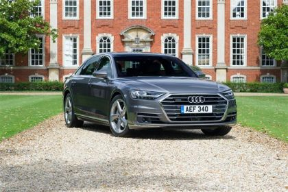 Audi A8 Saloon 55 Saloon quattro 4Dr 3.0 TFSI V6 340PS Black Edition 4Dr Tiptronic [Start Stop] [Comfort Sound]