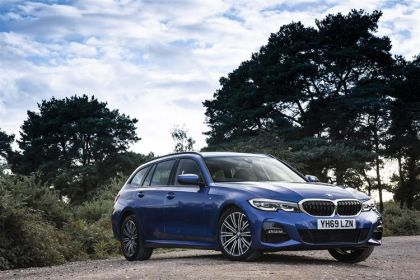 BMW 3 Series Estate 320 Touring 2.0 d MHT 190PS M Sport 5Dr Auto [Start Stop]