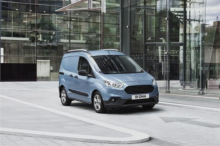 Ford Transit Courier N1 1.5 TDCi FWD 75PS Leader Van Manual [Start Stop]