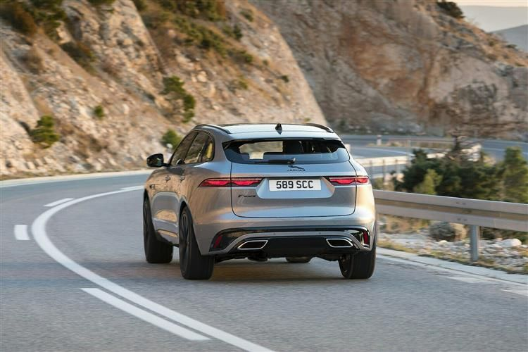 Jaguar F-PACE SUV AWD 2.0 i 250PS R-Dynamic HSE 5Dr Auto [Start Stop]