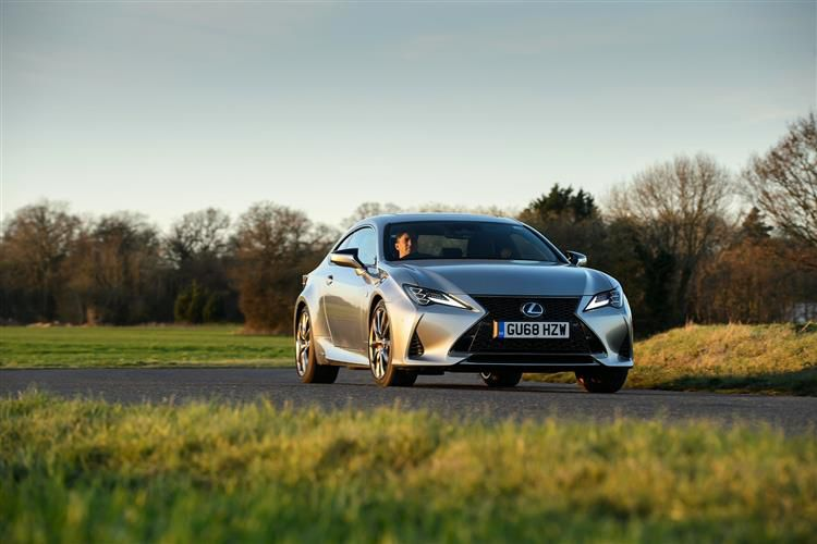 Lexus RC F Coupe 5.0 V8 463PS  2Dr Auto [SRoof]