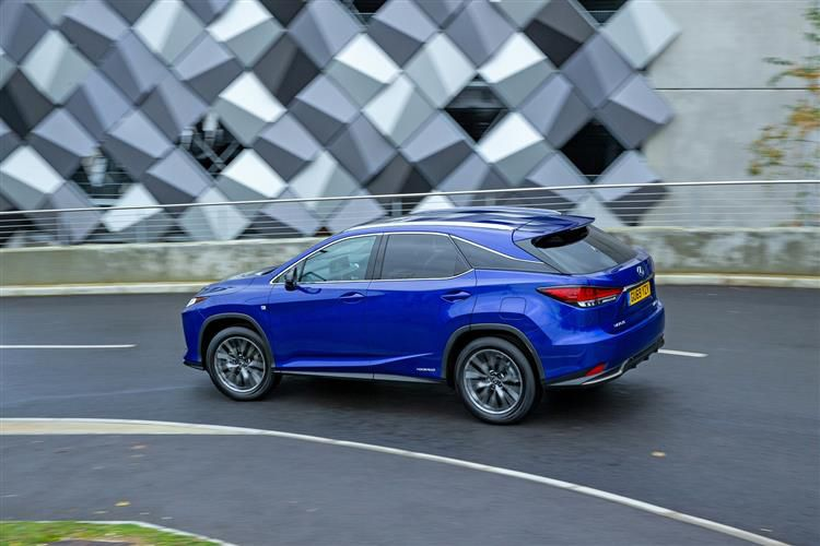 Lexus RX 450h SUV 4wd 3.5 h V6 313PS RX Prem 5Dr E-CVT [Start Stop] [Tech Safety]