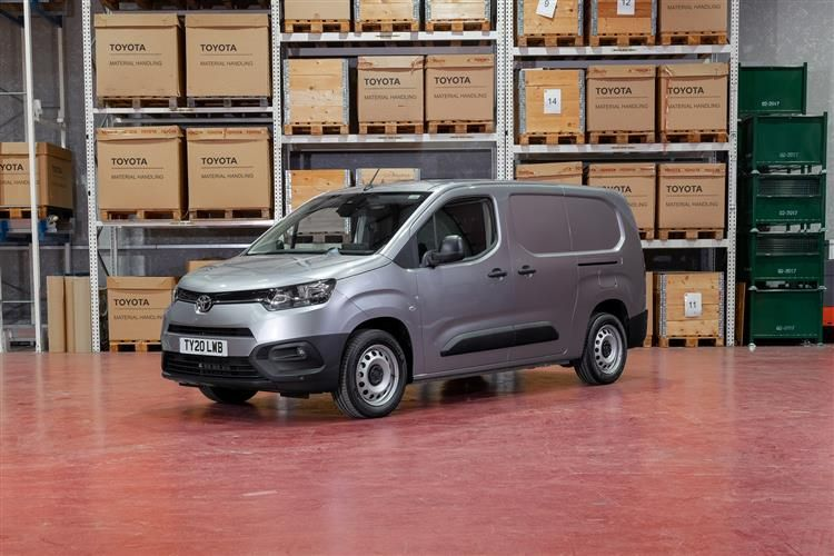 Toyota PROACE CITY Short 1.5  BlueHDi FWD 75PS Icon Van Manual [Safety Sense]