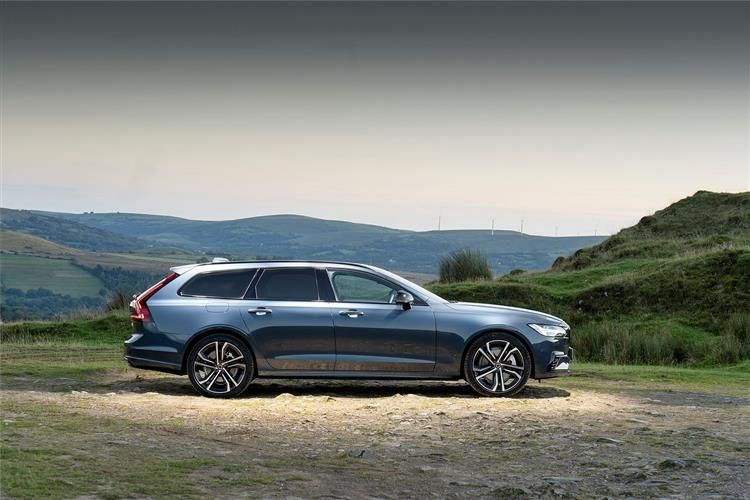 Volvo V90 Estate AWD PiH 2.0 h T6 11.6kWh 340PS R DESIGN 5Dr Auto [Start Stop]